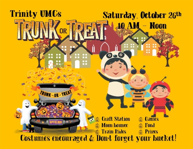 Trinity's Trunk or Treat