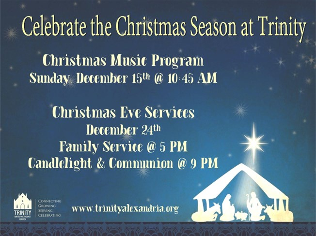 Christmas Eve at Trinity